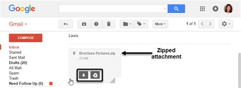 Search For Emails With Attachments Gmail How To Email Large Files As Gmail Attachments Codeholder Net