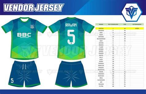 Vendor Jersey Futsal Seragam Futsal Custom Tangerang pembuatan baju futsal printing di bekasi vendor jersey