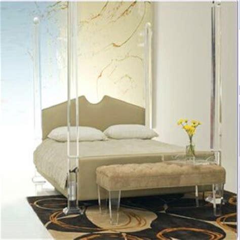 kinderen slaapkamer meubels set clear acryl bed frame