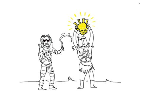 doodle or die solaire becomes more gross than incandescent