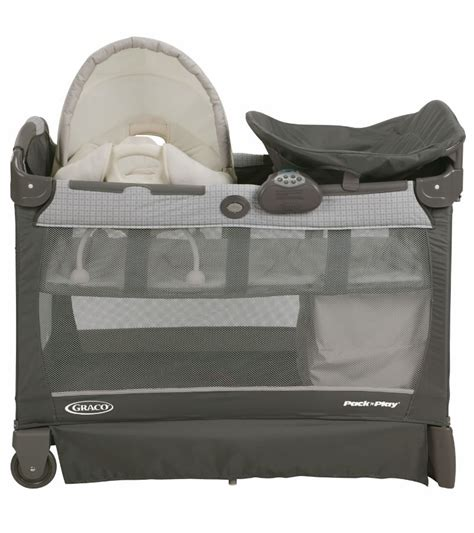 graco pack n play playard with cuddle cove rocking seat graco pack n play playard with cuddle cove removable seat