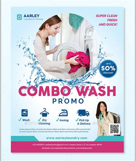 ironing service flyer template 19 laundry flyer templates free psd ai eps format