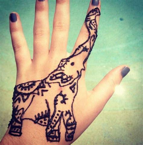 henna tattoo elephant designs cutest elephant henna tattoo