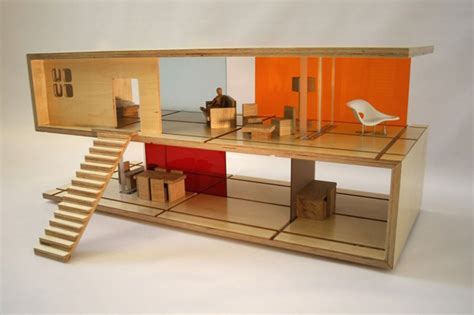 modern dolls house furniture qubis modern doll houses and furniture in one by amy whitworth extravaganzi