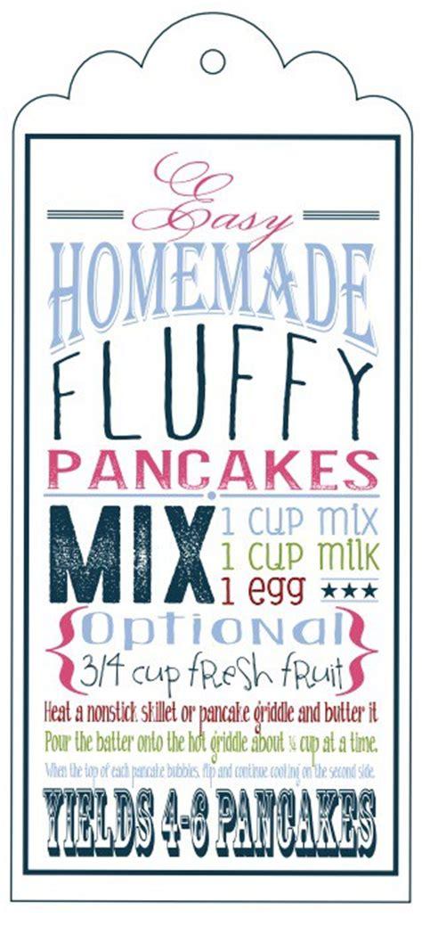 printable pancake recipes homemade fluffy pancake mix sugar dish me