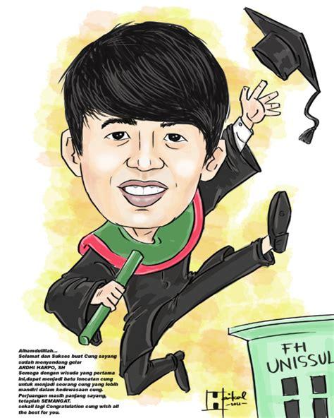 gambar peground wisuda karikatur wisuda pacar jasa karikatur online terbaik
