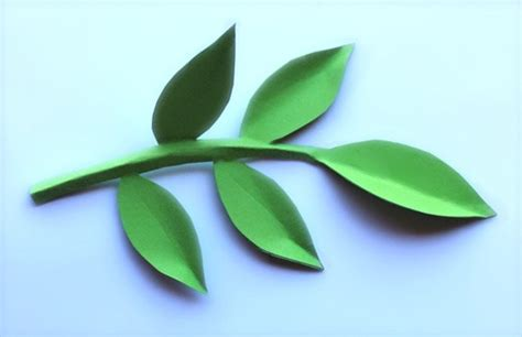 How To Make Paper Leaves For Flowers - paper flowers classroom craft activity easy make paper
