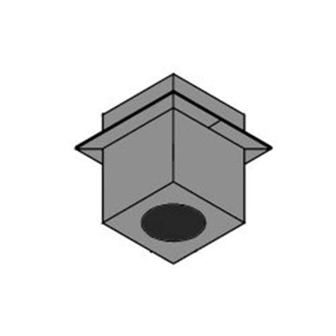 Duravent Ceiling Support Box by Dura Vent Pro Cathedral Ceiling Support Box 5 Quot X 8 Quot