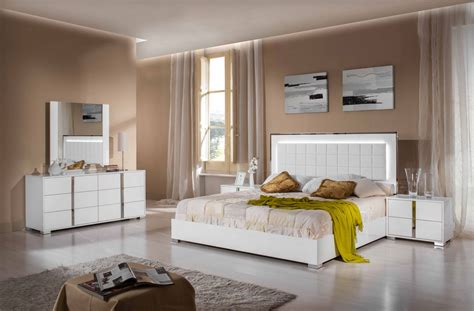 san marino bedroom collection modrest san marino modern white bedroom set
