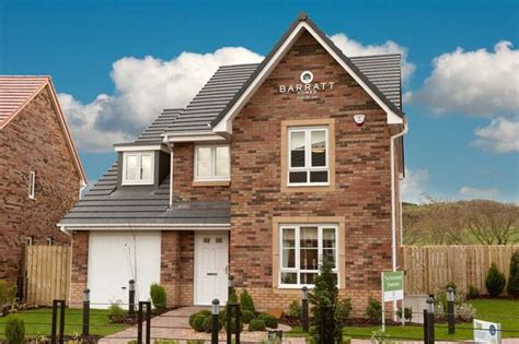 barratt homes to build 2 100 new homes in scotland across