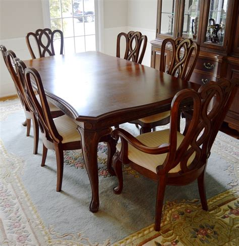 American Drew Dining Room Table by Formal Dining Room Table And Chairs By American Drew Ebth