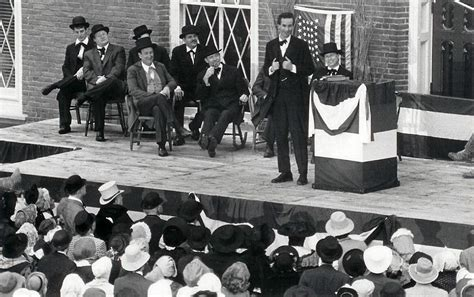douglas and lincoln debates with lincoln productions