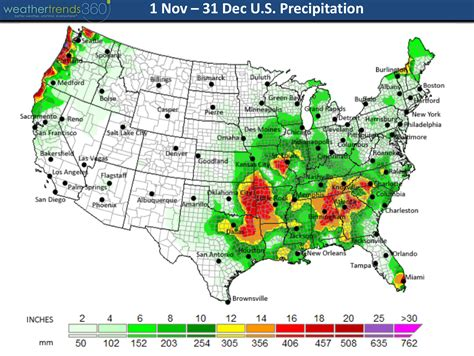 texas rainfall totals map december 2015 weather roundup and jan 2016 outlook agweb