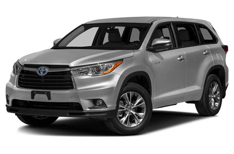 cars toyota 2016 2016 toyota highlander hybrid price photos reviews