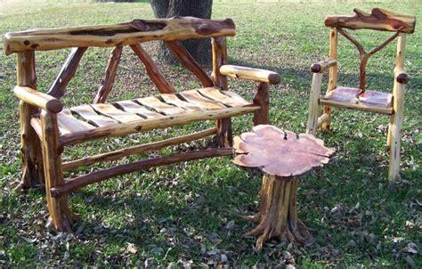 cedar log bench wood furniture pinterest cedar bench my style pinterest log furniture furniture and logs