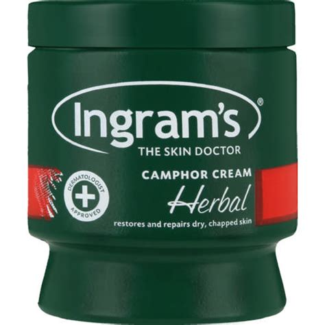Ingram's Camphor Cream Herbal 150ml   Clicks