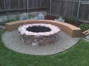 build outdoor fire pit