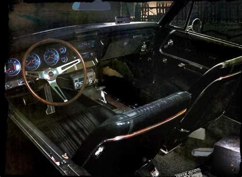 supernatural impala interior zero to sixty 67 chevrolet impala aka the supernatural car