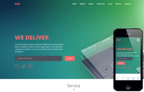 mobile app site template 150 best free and premium bootstrap website templates of 2017