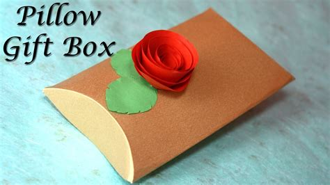 how to make a pillow gift box how to make a pillow gift box diy gift boxes