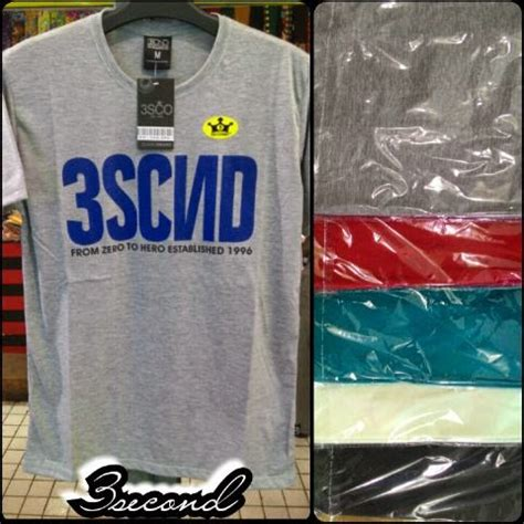 Kaos Three Second Distro 894 galeri kaos distro 3second terbaru maret