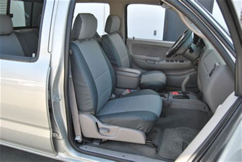Seat Covers For 2005 Toyota Tacoma Toyota Tacoma 2005 2015 Iggee S Leather Custom Fit Seat