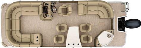pontoon boat floor plans 2017 sx24 dinette pontoon boats by bennington
