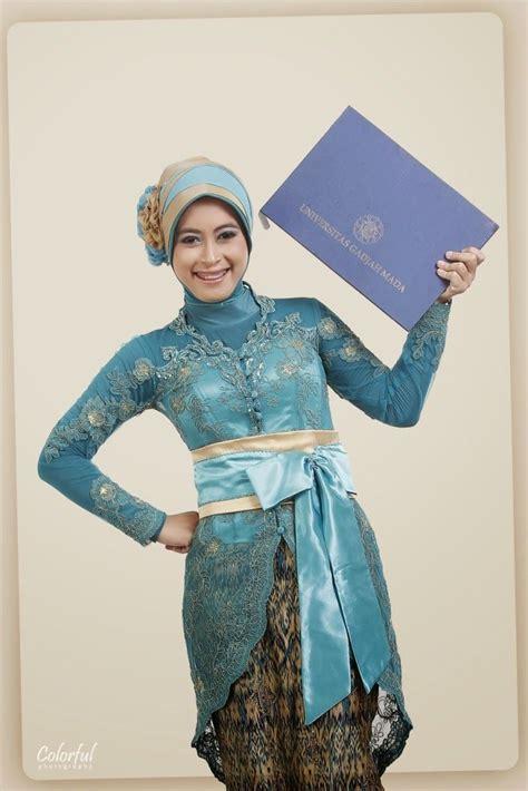 Kebaya Muslim Wisuda Di 45 Model Kebaya Wisuda Muslim Modern Terbaru 2018