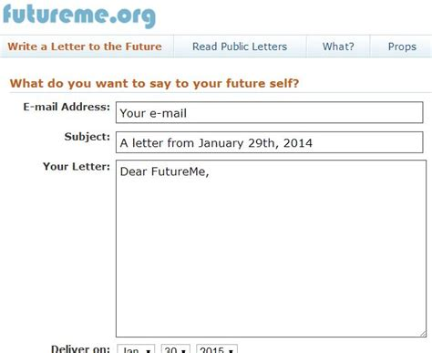 smart teaching blog write a letter to the future with