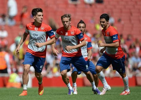 arsenal youngsters three arsenal youngsters who will get game time this