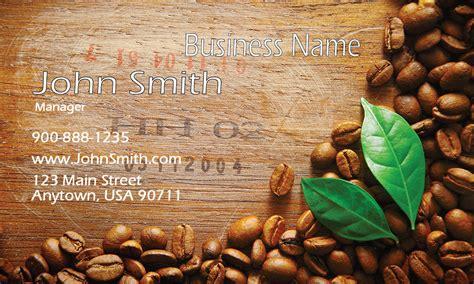 Browns Restaurant Gift Card - coffee beans shop business card design 1001031
