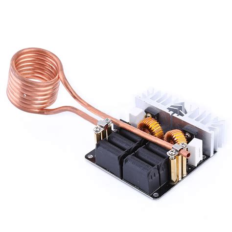induction heating driver rudolf 1000w zvs low voltage induction heating board module flyback driver heater