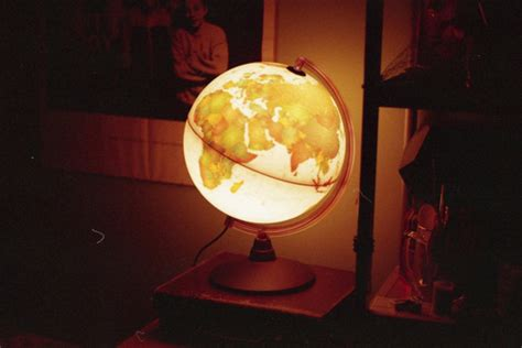 antique light up globe globe l light light up globe lighted globe image