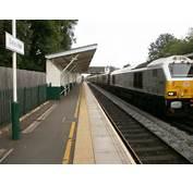 Description Beeston Railway Station Royal Train 67026 Nottingham Visit