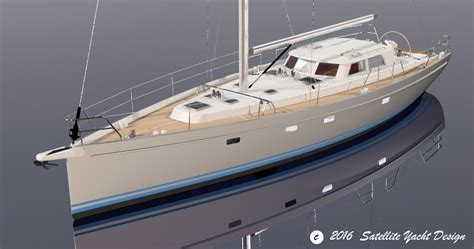 yacht design satellite yacht design orion 49 explorer