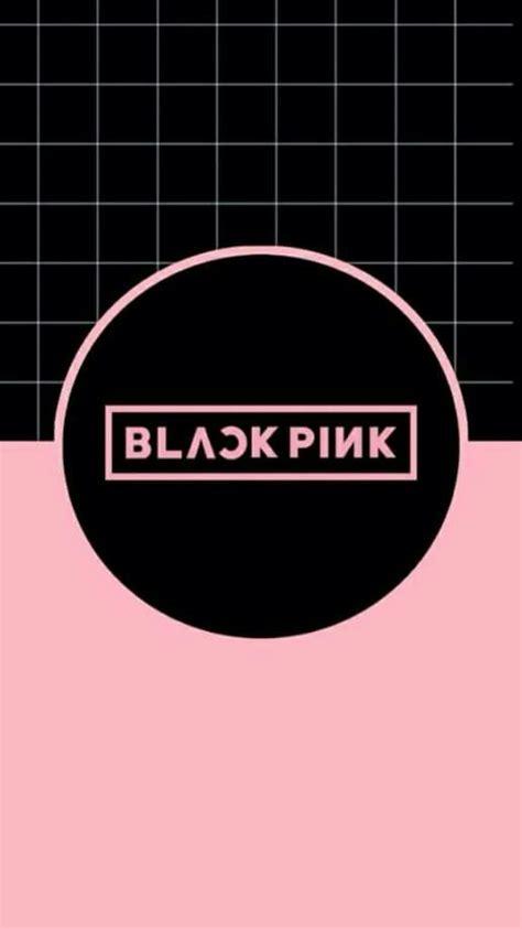 blackpink logo hd blackpink wallpaper kpop wallpapers pinterest