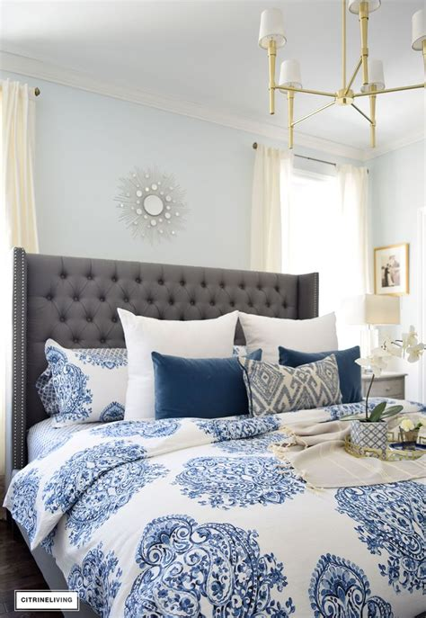 White And Blue Bedding by Best 25 Blue And White Bedding Ideas On