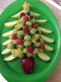 christmas tree fruit platter thing s i have made