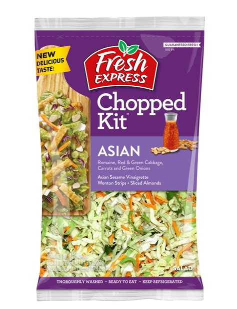 fresh express  launches chopped kit offerings  clean