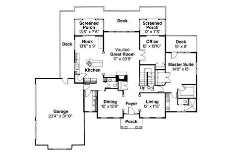 colonial style floor plans colonial house plans with portico