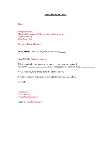Sle Invoice Letter For Payment past due letter template 28 images past due invoice