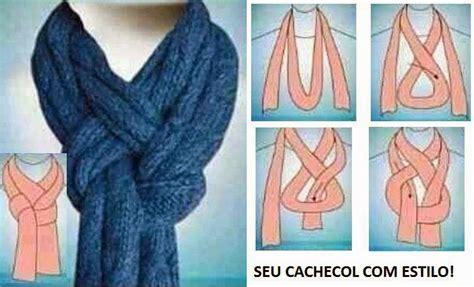 nudos de bufanda tejiendo sin agujas joyeria accesorios e ideas a partir