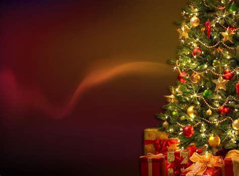 download wallpaper christmas tree garland gifts