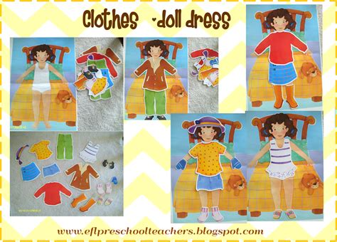 themes of clothing esl efl preschool teachers clothes theme for preschool ell