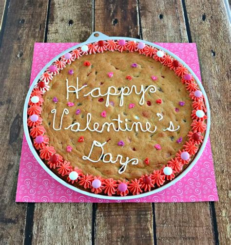 valentines cookie cakes chocolate chip cookie cake for s day hezzi d s