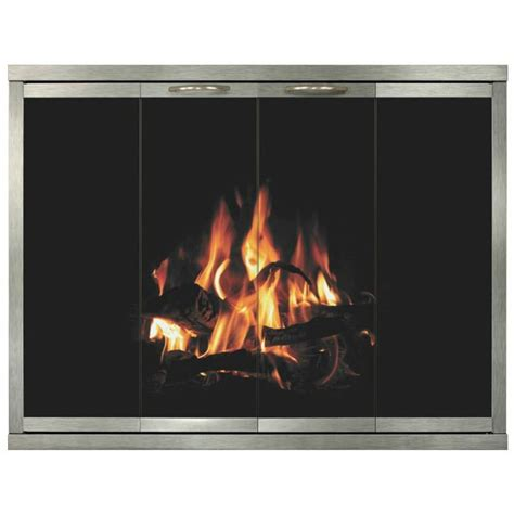 Temco Fireplace by Steel Temco Fireplace Doors