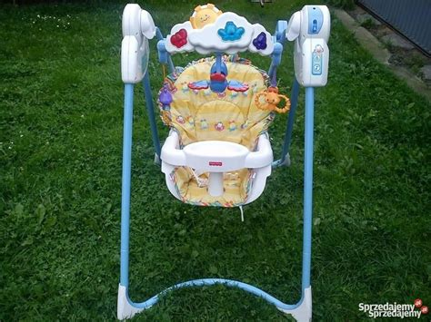 fisher price flutterbye dreams swing huśtawka fisher price flutterbye dreams swing stan bdb