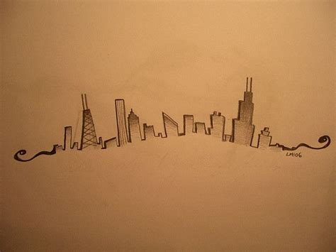 glow in the dark chicago skyline tattoo 17 best images about shelley on pinterest chicago