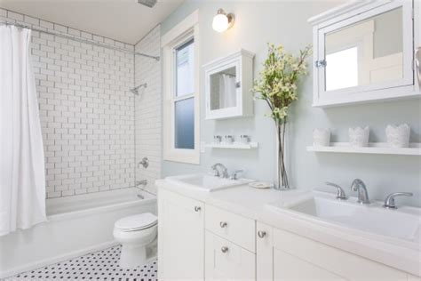 all white bathroom ideas american dream builders episode 6 before after