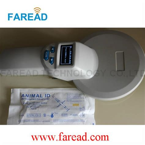 Frd5000 Animal Handheld Reader Scanner animal id reader rfid scanner for microchips frd5400 faread china manufacturer memory